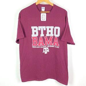 TEXAS A&M Aggies BTHO BAMA T Shirt Football 1003